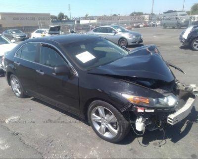 Salvage Black 2013 Acura Tsx