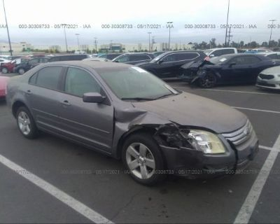 Salvage Gray 2007 Ford Fusion
