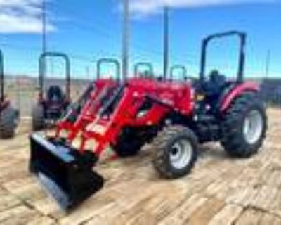 New 2021 TYM Tractors T57HST TURBO Diesel 4x4 Tractor Loader