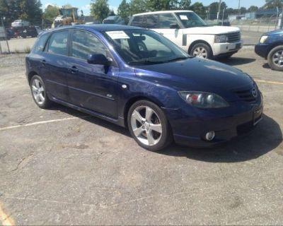 Salvage Blue 2004 Mazda Mazda3
