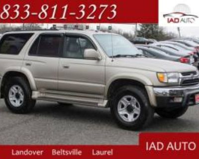2002 Toyota 4Runner SR5 V6 4WD Automatic