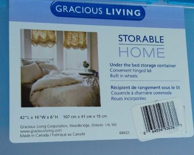 Gracious Living Under Bed Storage Container