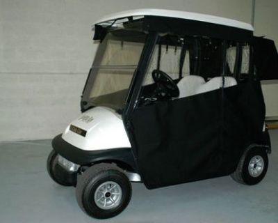 Sunbrella Ezgo,club Car Other Golf Cart Enclosure Cover Track Style Snaps