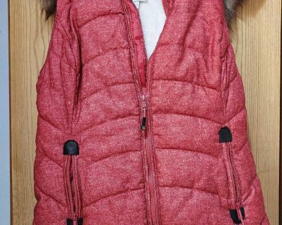 Small Fur lined vest