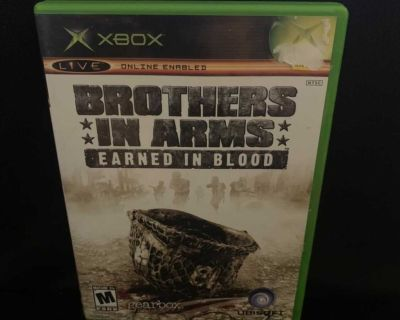 Brothers In Arms Earned In Blood (Microsoft Xbox) Complete Ed.