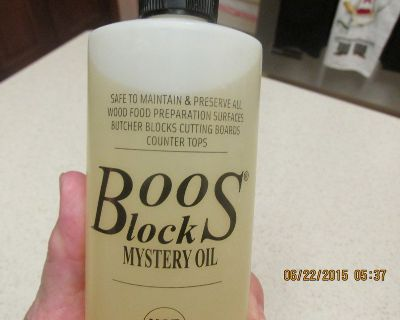 Boos Block Mystery Oil - To Preserve Wood Food Surfaces - 16 Oz.