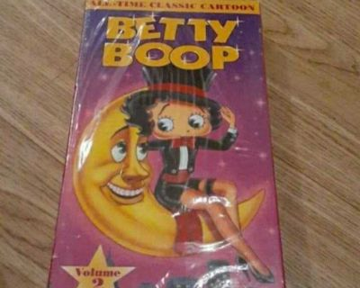 Betty Boop Vol. 2 (VHS, 1992)