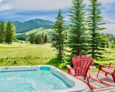 Book Summer! Spectacular Greywolf Course Views-Private Hot Tub-Deck-BBQ - Panorama