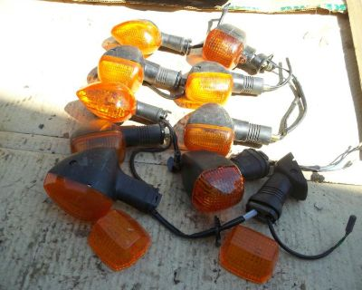 Unknown 10 Kawasaki Turn Signals 2 Lens 10 Misc Winkers 10 Blinkers 10 Signals
