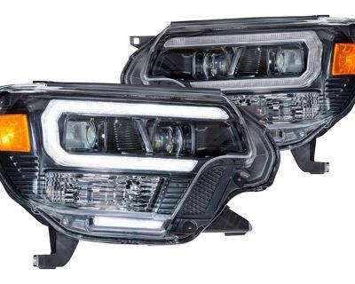 Newly-Released Morimoto XB Hybrid LED Headlights for Toyota Tacoma