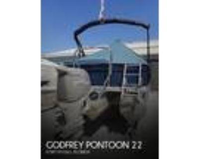 22 foot Godfrey Pontoon 22