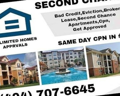 404-707-6645 BAD CREDIT EVICTION SECOND CHANCE APARTMENT $75 CPN NUMBER
