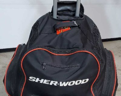 Sherwood Hockey Bag with Wheels(2 to sell)