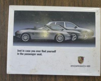 Porsche Cayenne Owner's Manual W/original Plastic Case. No Reserve!