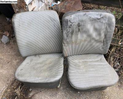 original upholstery circa 1959 low back seats