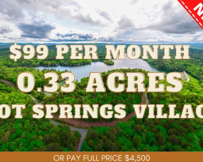 0.33 Acres for Sale in Hot Springs Village, AR