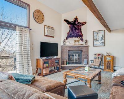 Dog-Friendly Mountain View Townhouse w/ Free WiFi, Gas Fireplace, & Washer/Dryer - Camelback Mountain Resort