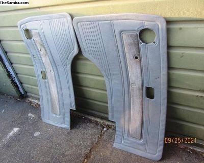 grey vanagon door panels
