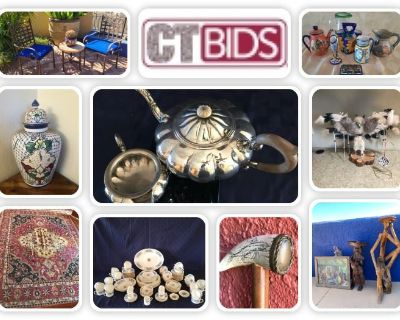 CARING TRANSITIONS FOURNIER IN-HOME ONLINE AUCTION / ORACLE & DESERT SKY / ENDS 03/02/21