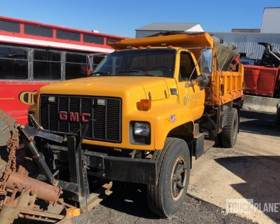 1997 GMC C7500 4x2 Snow Plow Truck