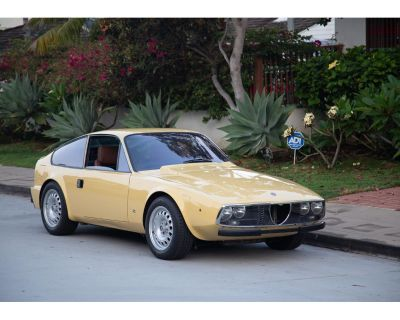 1970 Alfa Romeo Giulietta Spider