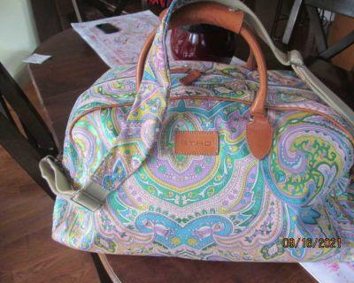 Etro Milano multi paisley duffel bag like new