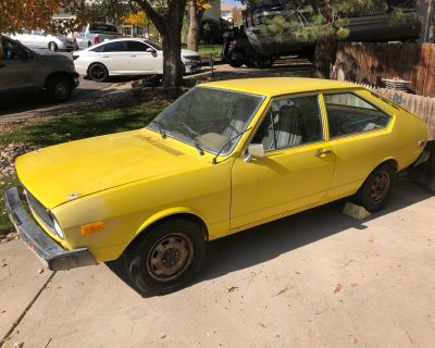 WTT: 1974 Rally Yellow Dasher project for 1976 Scirocco project. Denver