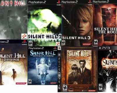I m looking for the silent hill games