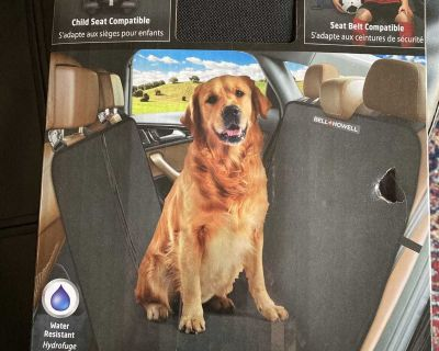 New inbox bell Howell multi-use auto seat proctector