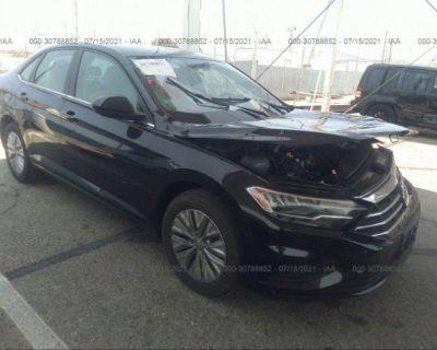 Salvage Black 2020 Volkswagen Jetta