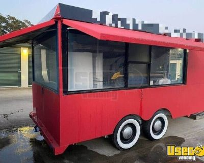 Kitchen Food Concession Trailer with Brand New Pro Fire Suppression System