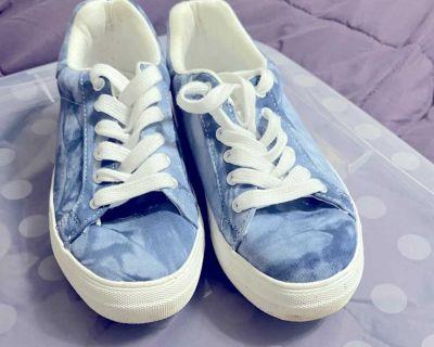 Blue soda sneakers