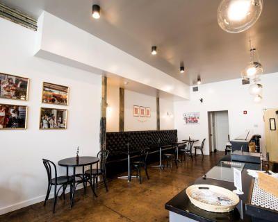 Light-Filled Coffee Shop in Award-Winning Sweet Auburn Historic Building, Atlanta, GA