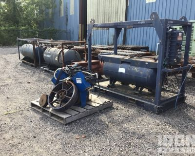 Skid Mounted Electric Air Compressor