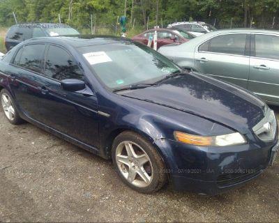 Salvage Blue 2006 Acura Tl