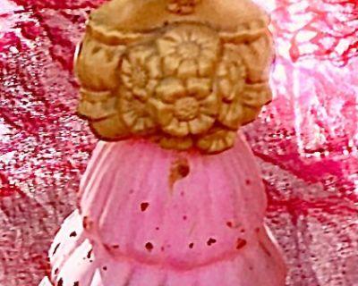 JUST Lowered! ~ 70's Avon 'Garden Girl' Cologne Bottle