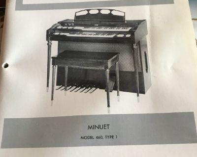 Conn Organ-Minuet Model 460