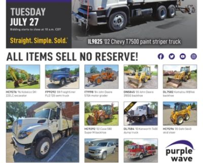 July 27 government auction