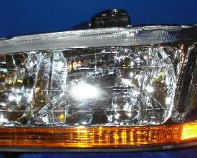 L Headlight 2001 2002 Honda Accord Headlamp 01 02 New
