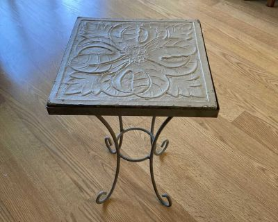 2 small patio tables