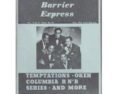 TIME BARRIER EXPRESS ~ Magazine #19 Temptations !