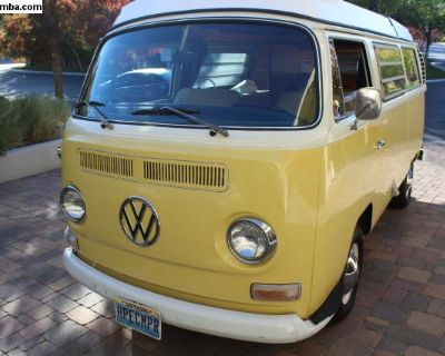 1970 Westfalia Camper Van