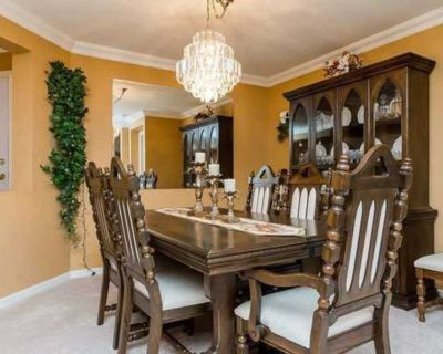 Dining set: table, chairs and hutch