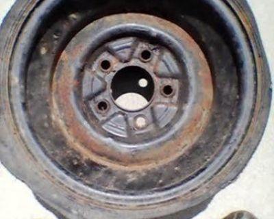 15x8 Ford Rat Rod Wheel Smoothie Flathead Jalopy 1948 1943 1944 Kh Fomoco 1947