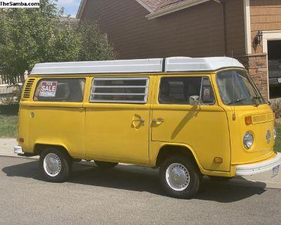 1977 VW Westfalia Vanagon (partially restored)