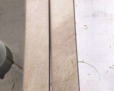 Baseboard tile