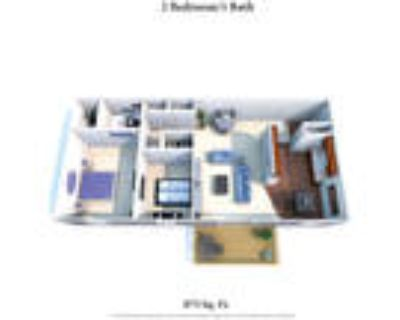 Sharondale Woods Apartments - 2 Bedroom 1 Bath Deluxe
