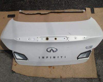 2009 2010 2011 2012 2013 Infiniti G37 Sedan Trunk Lid Oem