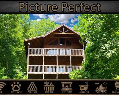 Picture Perfect} Mountain Views \ Pet Friendly \ Pool Table \ Jacuzzi \ WiFi - Pigeon Forge
