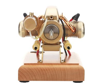 Flat-twin Four-stroke Miniature Motorcycle Engine